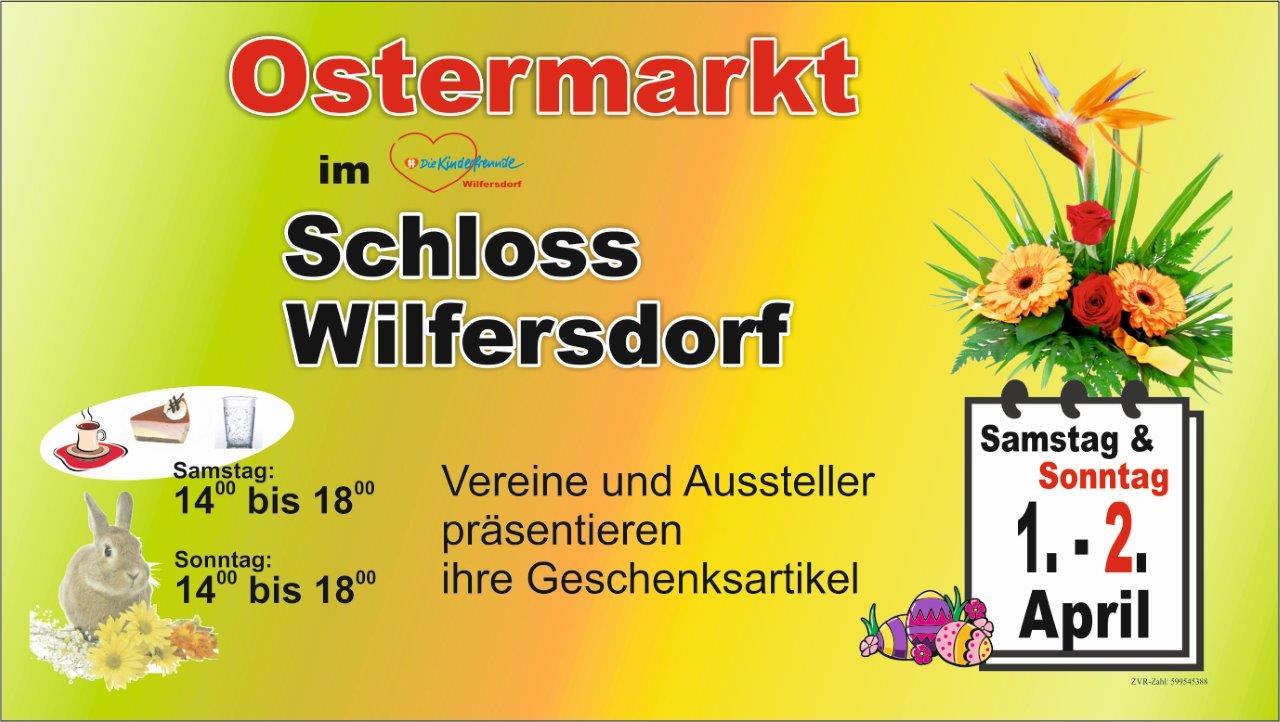 Ostermarkt im Schloss Wilfersdorf